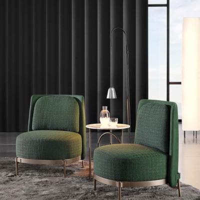 Minotti Tape fauteuil groen design concept store