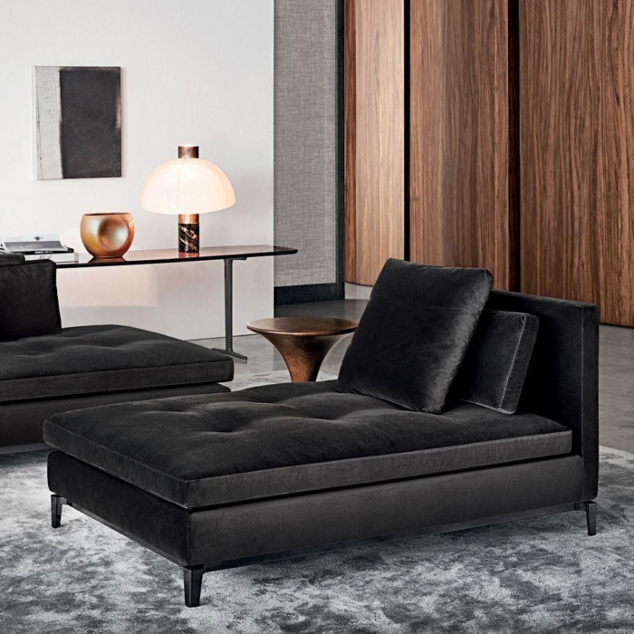 Minotti Andersen Paolina chaise longue en daybed