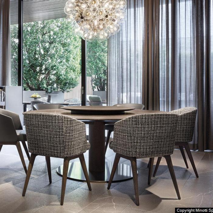 Minotti Bellagio Dining Wood eettafel