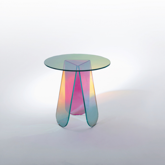 Glas Italia_Shimmer_bijzettafel glasPatricia Urquiola_designmeubels NovalisO